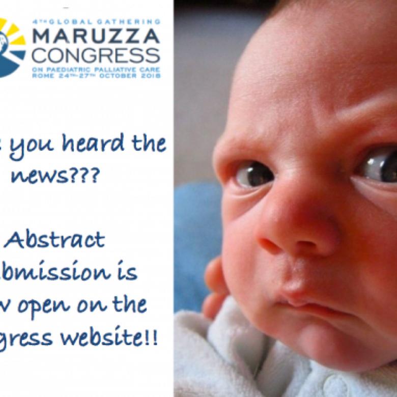Έναρξη υποβολής περιλήψεων για το 4th Global Gathering Maruzza Congress on Paediatric Palliative Care