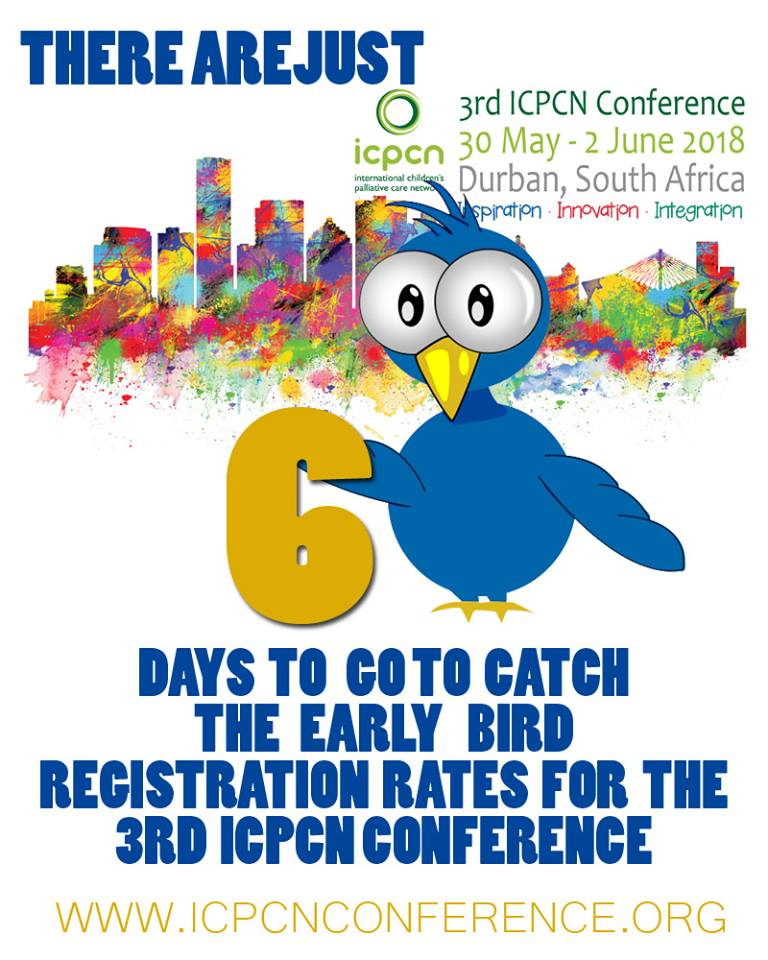 3rd ICPCN International Conference on Children's Palliative Care